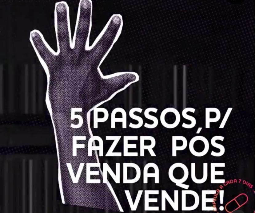 mão com cinco dedos